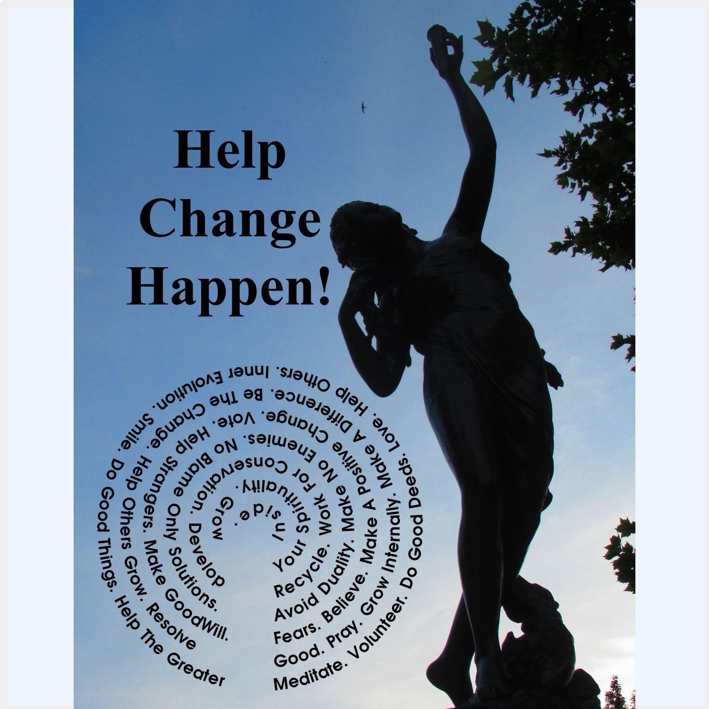 Help Change Happen!